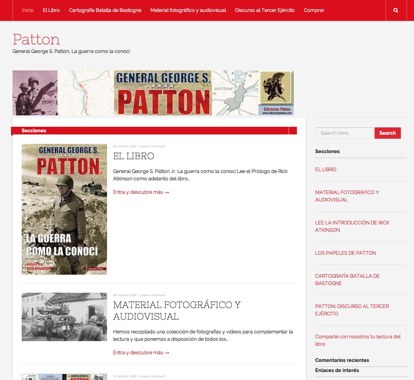 Contenido extra del General Patton